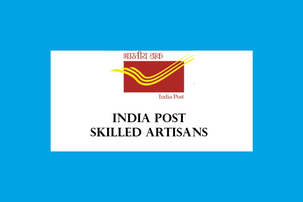 India Post Skilled Artisans Direct Recruitment 2020 – 8 Posts