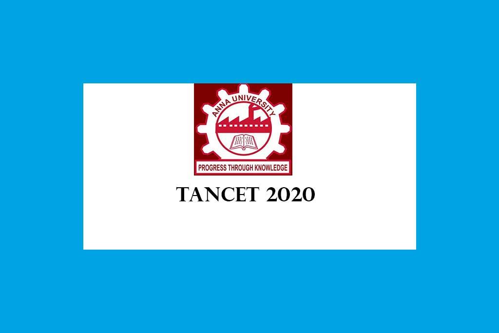 TANCET 2020 – MBA MCA ME MTech M Plan MArch Admission Tamilnadu