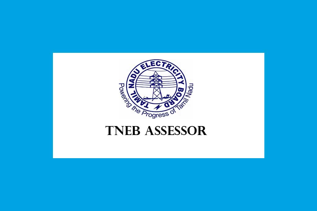 TANGEDCO Assessor Direct Recruitment 2020, 1300 Posts Apply Online