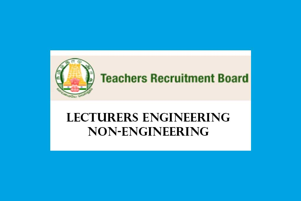 TRB Lecturers Engineering Non-Engineering in Government Polytechnic Colleges Syllabus 2020