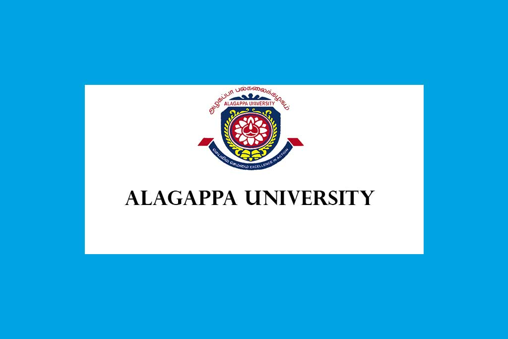 Alagappa University Recruitment of Assistant Professors, Associate Professors, Professors, Principal and Librarian 2020 – 80 Posts