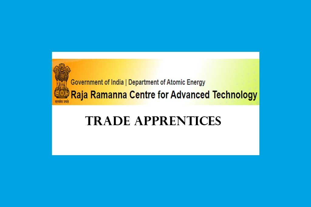 RRCAT Trade Apprentices Recruitment 2020 – 70 Posts