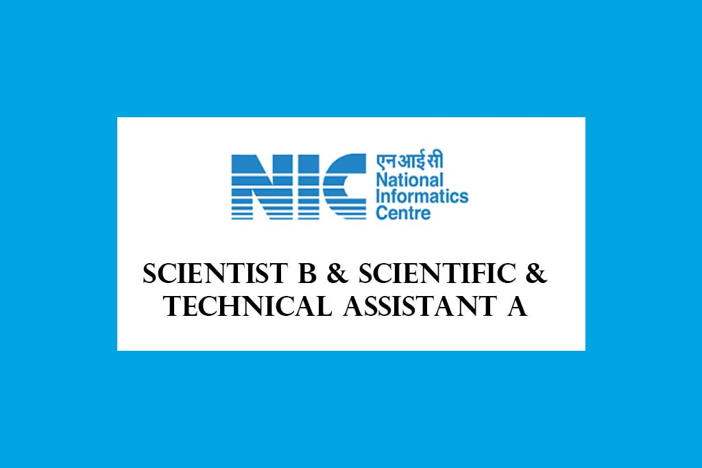 NIELIT Scientist B and Scientific and Technical Assistant A Recruitment 2020 – 495 posts