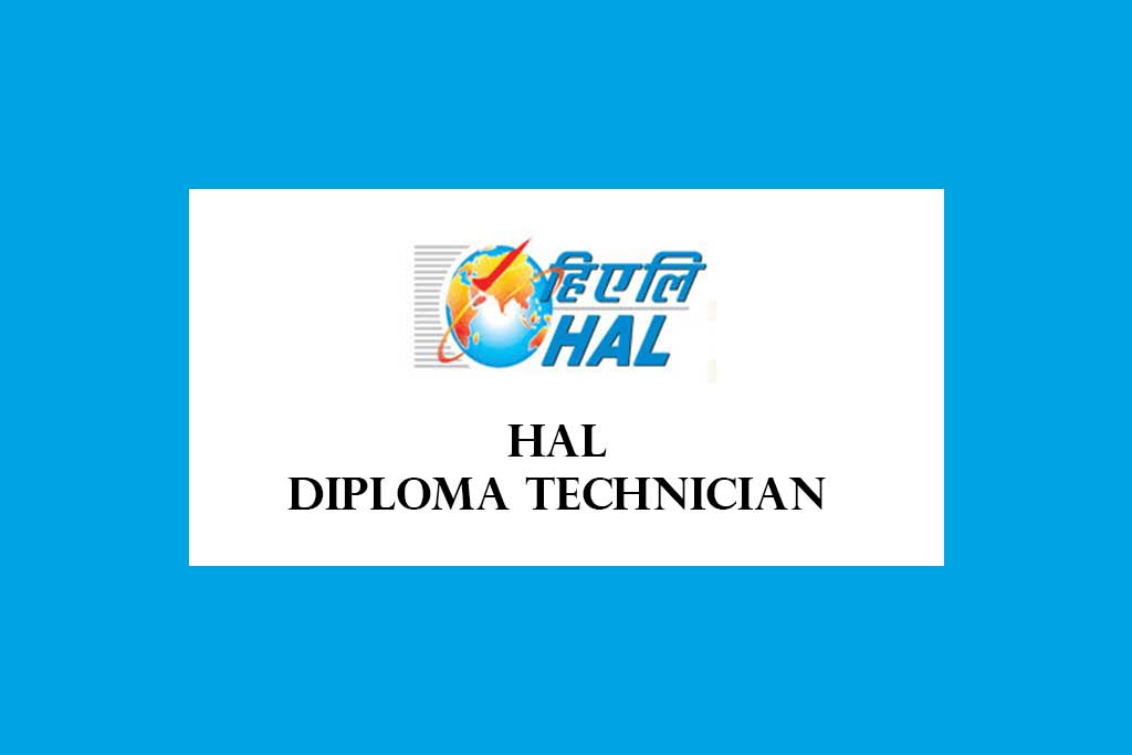 HAL Diploma Technician Recruitment 2020 – 15 Posts