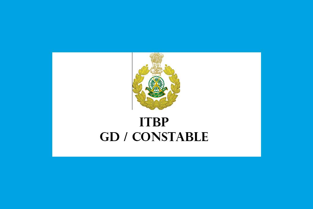 Indo Tibetan Border Police Force ITBP Constable GD Recruitment 2020 – 51 Posts