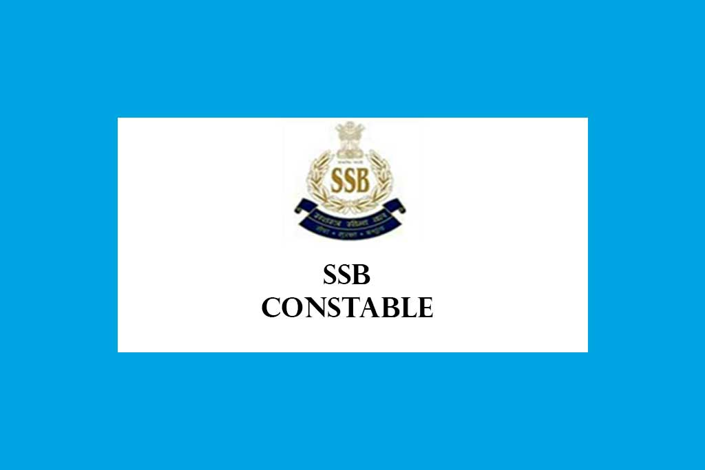 SSB Constable Recruitment 2020 – 1552 Posts