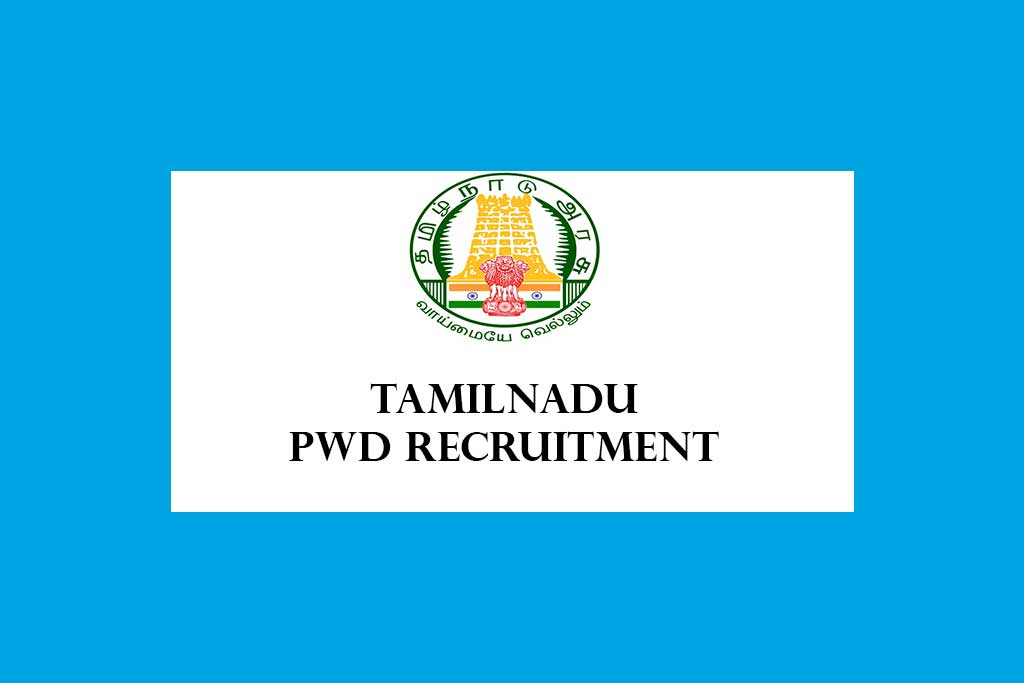 Tamilnadu PWD Apprentice Recruitment 2020 – 280 Posts