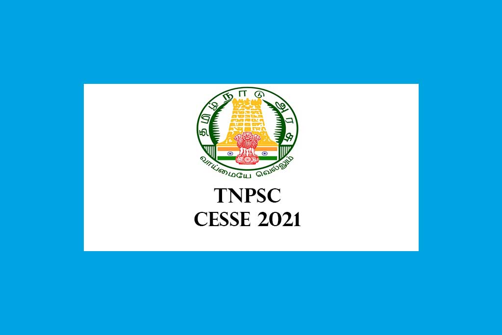 TNPSC Combined Engineering Subordinate Services Examination 2021 – 537 Posts