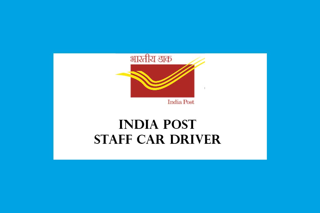 India Post Mail Motor Service Staff Car Driver Recruitment 2021 – 16 Posts